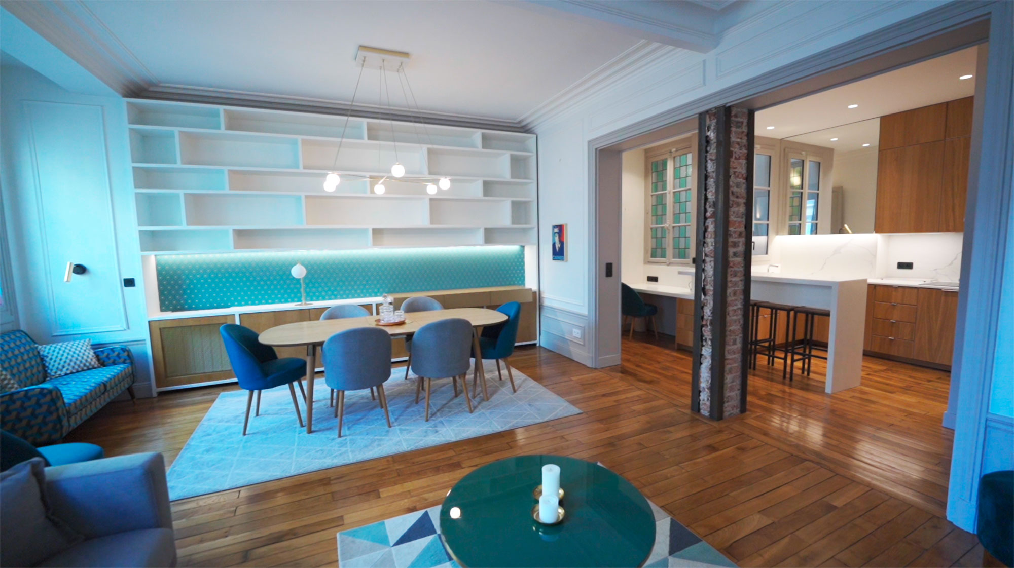 video immobilier luxe
